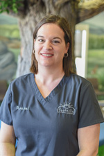 Pediatric dentist Dr. Michael Bozard staff member - Rachel