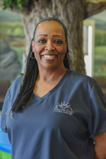 Pediatric dentist Dr. Michael Bozard staff member - Yolanda